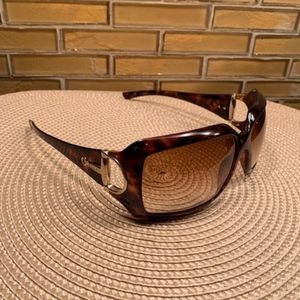 AUTHENTIC GUCCI HORSE BIT TORTOISE SHELL FRAME